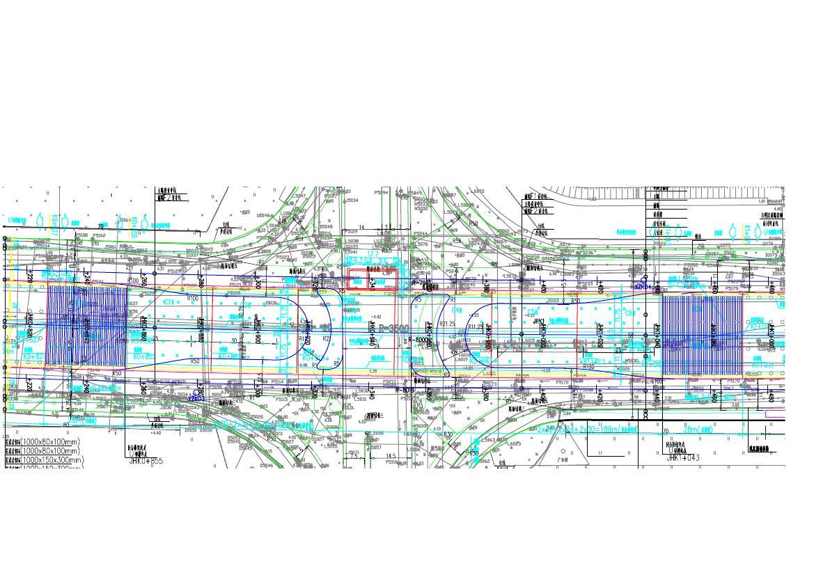 广东xx路口隧道设计方案图