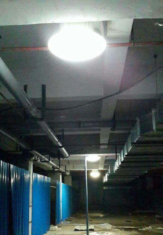 无电照明系统照明效果