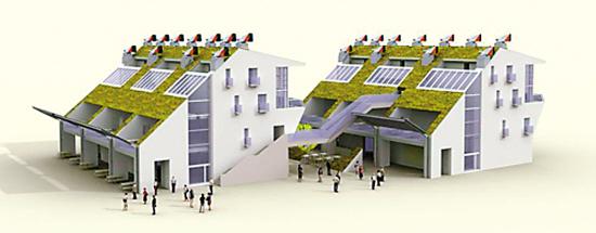 世博会零碳馆效果图