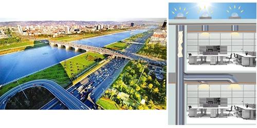 选用日光照明系统 助推山西节能减排