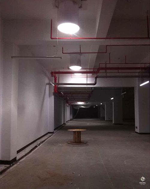 室内漫射器照明效果图