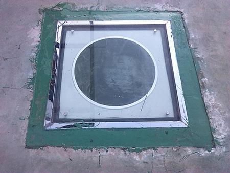 平板型采光罩节点图-日光照明系统