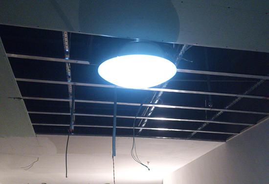 无频闪无眩光的光导照明