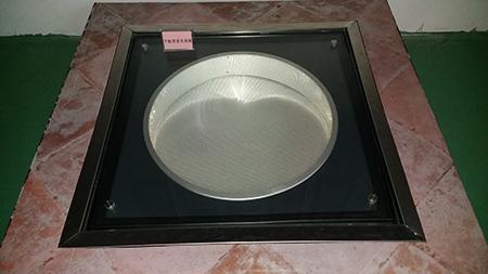 平板形采光器实物图-导光管采光系统