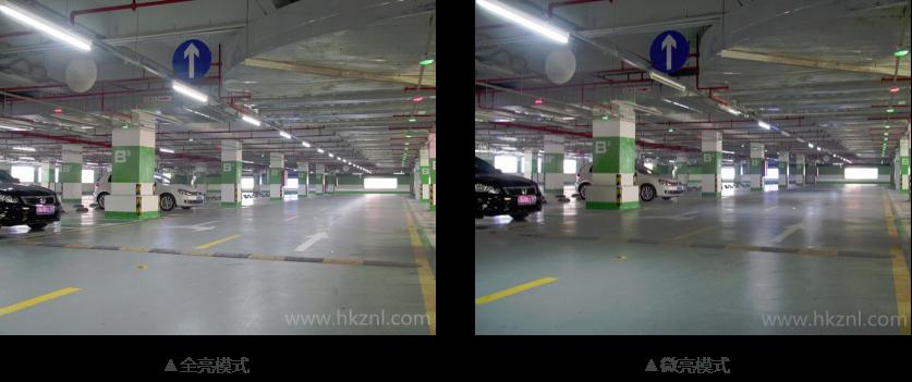 """直接高效采集户外自然光导进室内进行照明。可为车库白天提供充足的照明光线,100%不用电。正能量延伸的车库智能照明系统与无照明完美结合,在夜间室外没有自然光时,为建筑场所夜间提供更智能、更节能的方案,实现按需照明! 车库智能照明系统功能介绍: 全自动定制控制。当人车进入某个区域,该区域的灯全功率点亮;当人车离开该区域,该区域车道部分只保持部分功率的微亮状态,实现""""按需照明""""。 设计简单、使用方便。无需改变现有电路设计,无需另外增加信号线。 节能、寿命长。超低功耗、超长待机、超级灵敏度"""