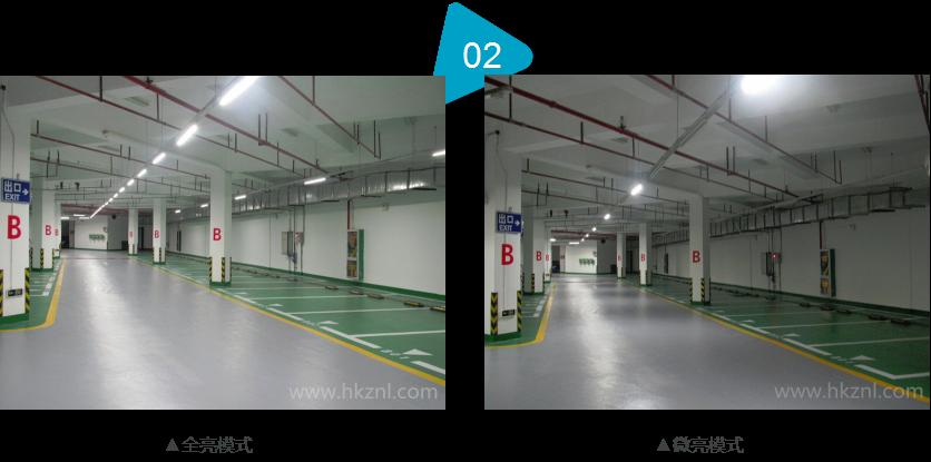 车库led智能照明系统|led智能控制技术|地下室智能