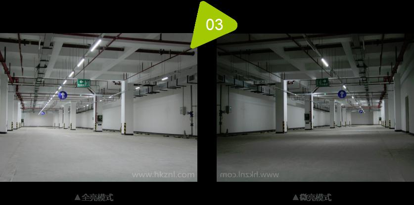智能led车库照明系统室内效果