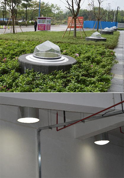 自然光照明系统室外室内