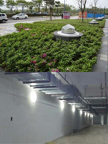 广州导光管照明应用