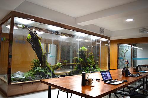 采光导光管在密闭办公空间里应用