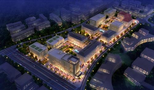 重庆同景两江总部智慧生态城光导照明应用