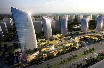 上海东渡国际青浦光导照明系统应用
