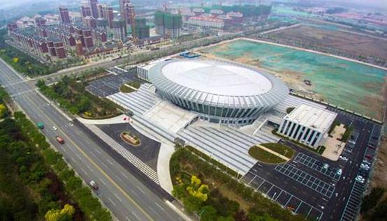 天津宝坻体育馆日光照明