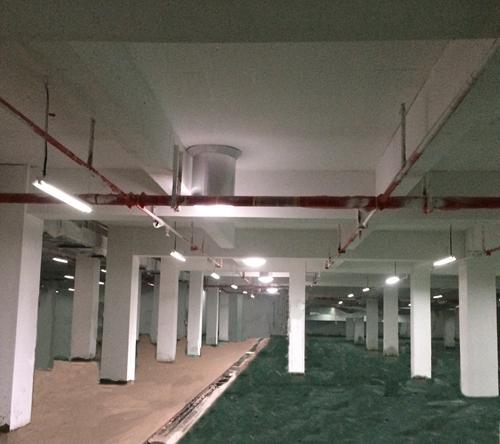 红桥中学车库光导照明系统