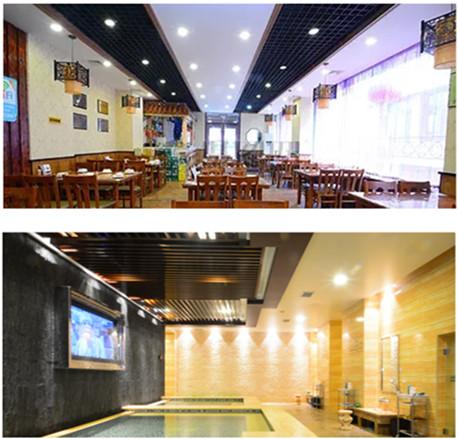 朝鲜平壤水产综合饭店——无电照明系统应用