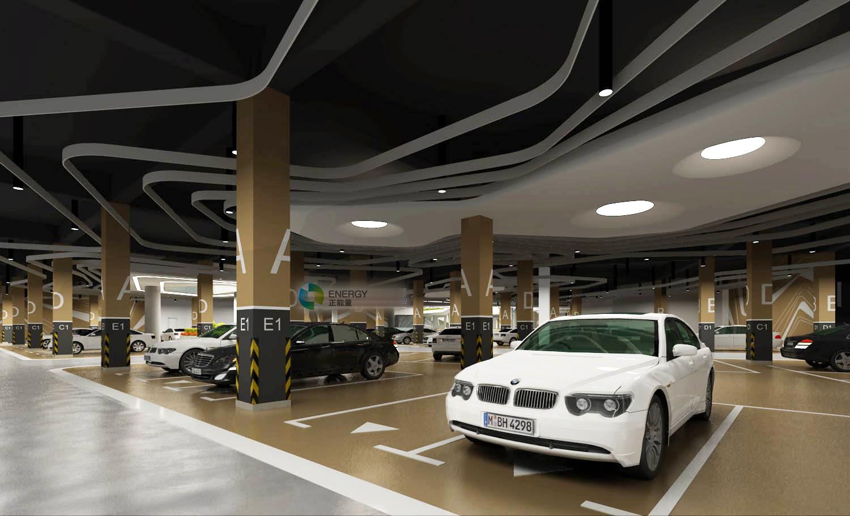 合肥王下份地下公共停车场——无电照明系统应用