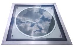 光导照明系统平板型采光装置