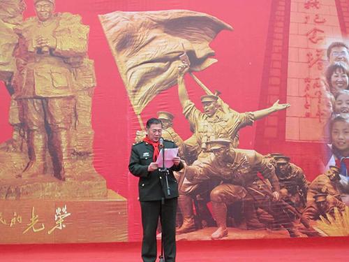 朱德总司令外孙刘健将军风采