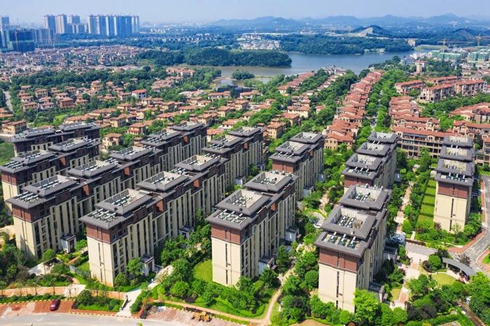 长沙金地三千府——光导管照明项目