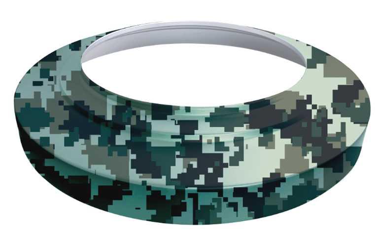 迷彩防雨套圈-导光管采光系统