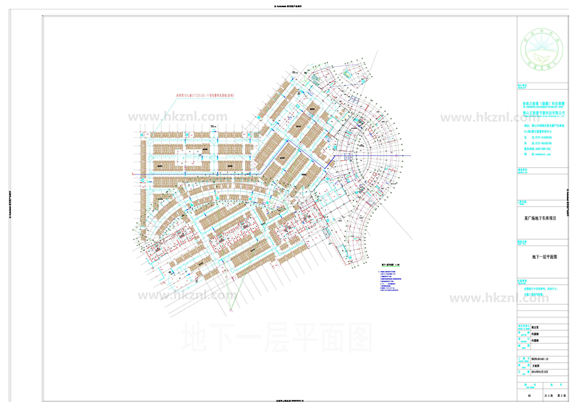 国内XX广场地下车库导光管采光系统设计方案图