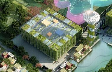 深圳低碳城展览中心光导照明应用