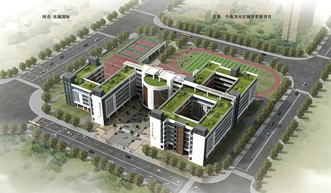 深圳坪山中学光导照明应用